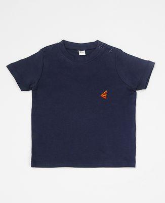 T-Shirt bébé Pizza (brodé)