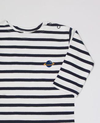 T-Shirt bébé Planète (brodé)