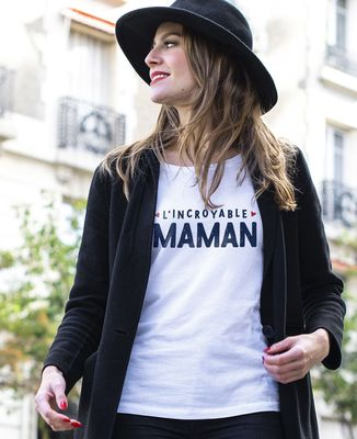 T-Shirt femme L'incroyable maman