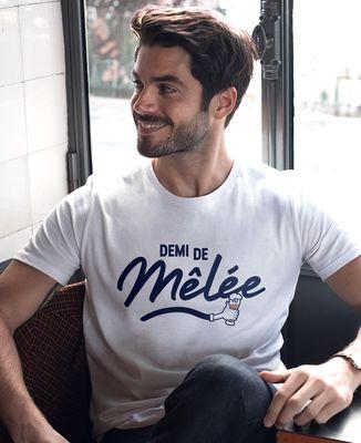 T-Shirt homme Demi de mêlée