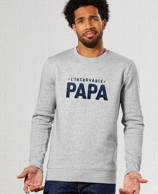 Sweatshirt homme L'incroyable papa