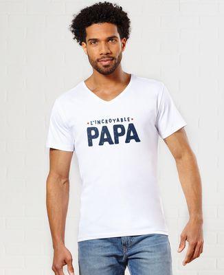 T-Shirt homme L'incroyable papa