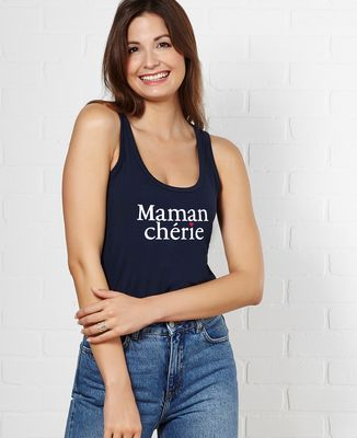 Débardeur femme Maman chérie