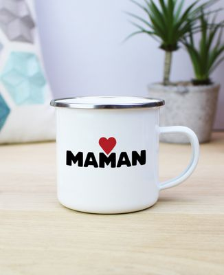 Mug Maman grand coeur