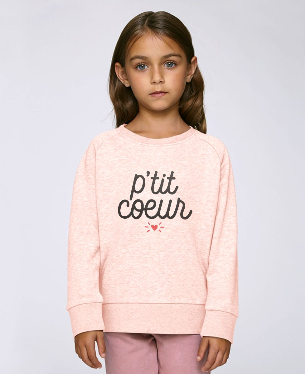 Sweatshirt enfant P'tit coeur