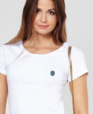 T-Shirt femme Masque lucha libre (brodé)