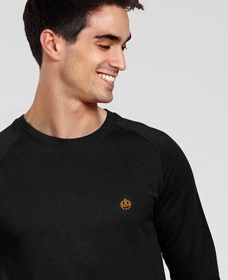 Sweatshirt homme Citrouille (brodé)