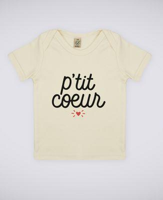 T-Shirt bébé P'tit coeur