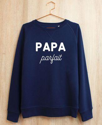 Sweatshirt homme Papa personnalisé