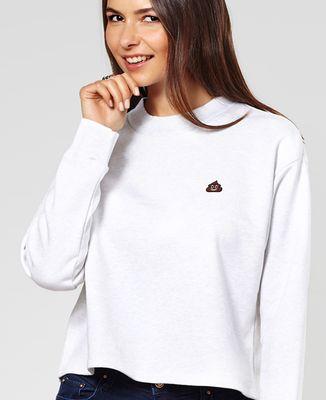 Sweatshirt femme Poop (brodé)
