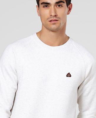 Sweatshirt homme Poop (brodé)
