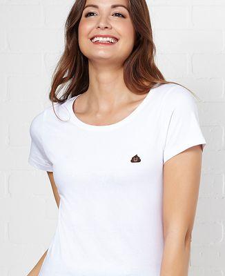 T-Shirt femme Poop (brodé)
