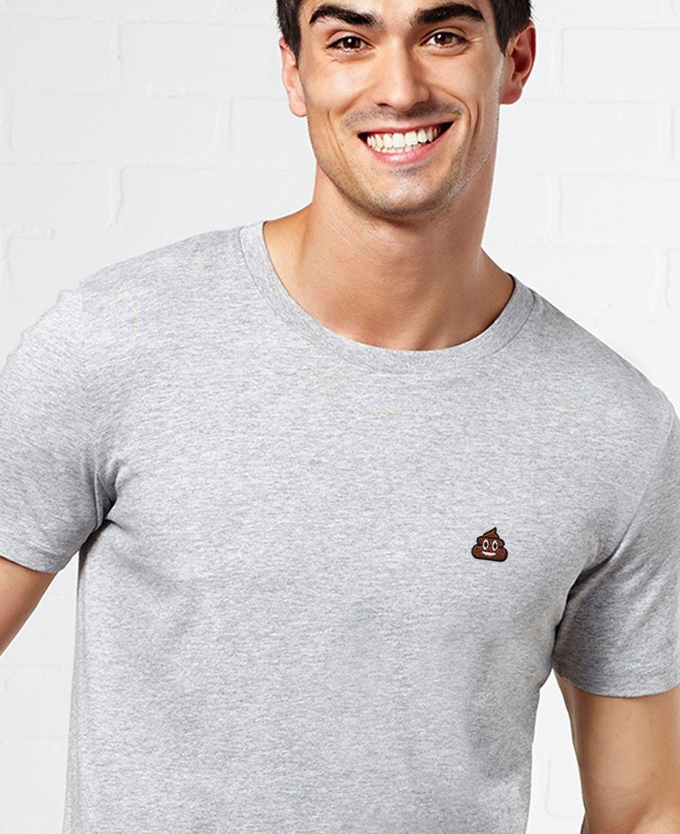 T-Shirt homme Poop (brodé)