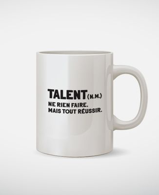 Mug Talent définition