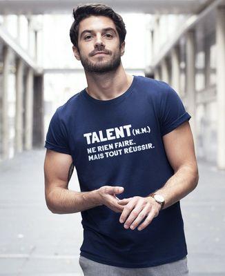 T-Shirt homme Talent définition