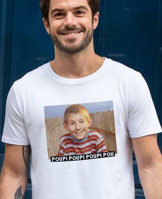 T-Shirt homme Poupi Poupi Poupi Pou