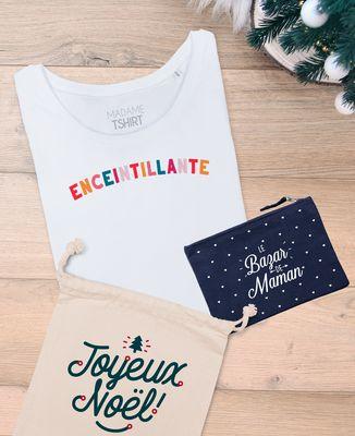 Coffret Cadeau Noël Enceintillante + Le bazar de maman
