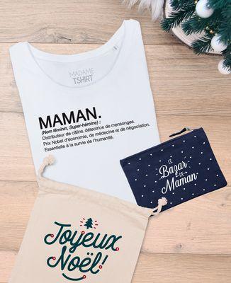 Coffret Cadeau Noël Maman définition + Le bazar de maman