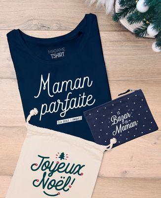 Coffret Cadeau Noël Maman parfaite + Le bazar de maman