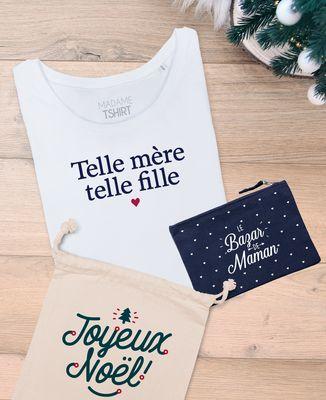 Coffret Cadeau Noël Telle mère telle fille + Le bazar de maman