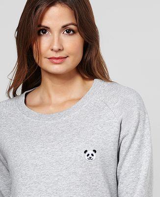 Sweatshirt femme Panda (brodé)