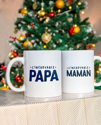 Coffret L'incroyable papa + l'incroyable maman