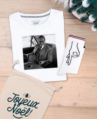 Coffret Jeu du rond Chirac + chaussettes Jeu du rond