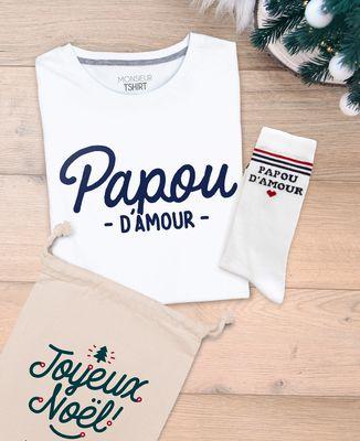Coffret Papou d'amour + chaussettes Papou d'amour