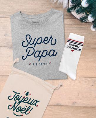 Coffret Super Papa + chaussettes Papou d'amour