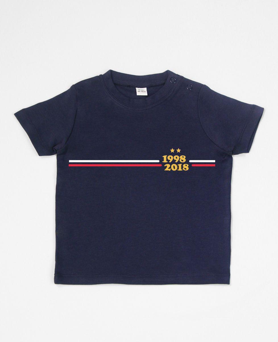 T-Shirt bébé Supporter France