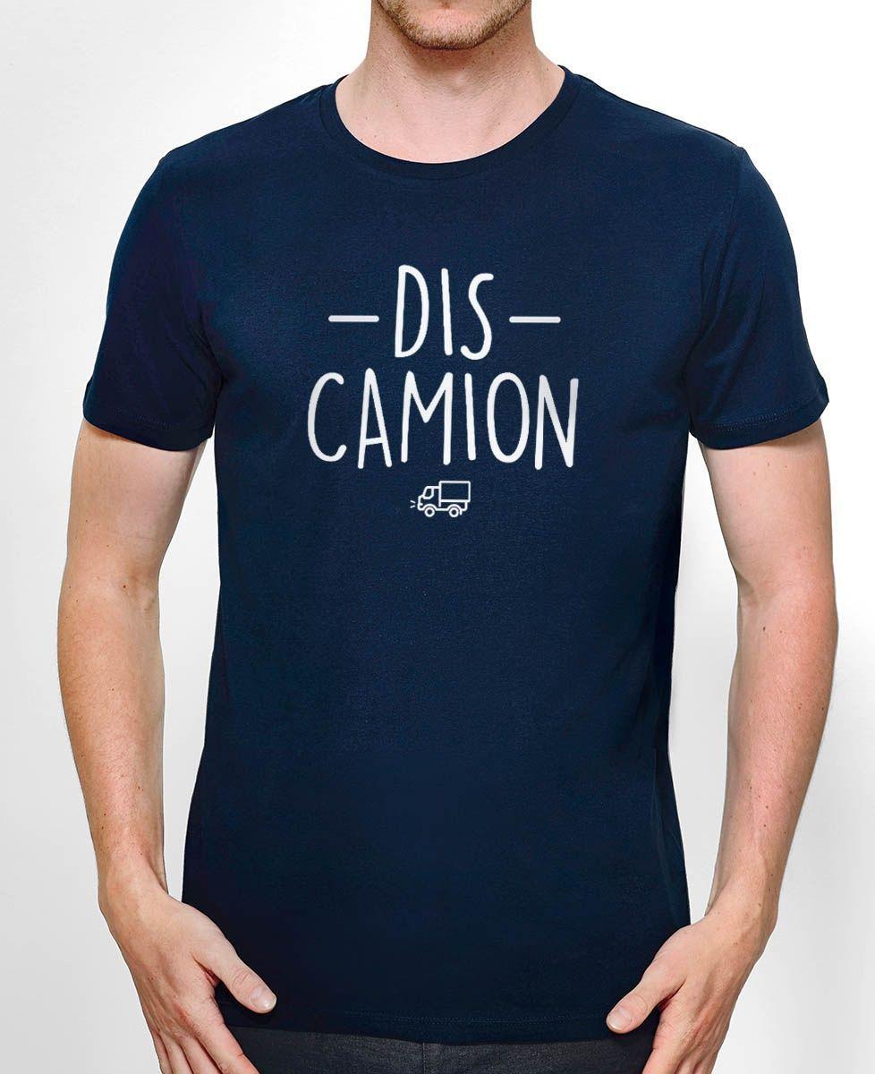 T-Shirt homme Dis camion