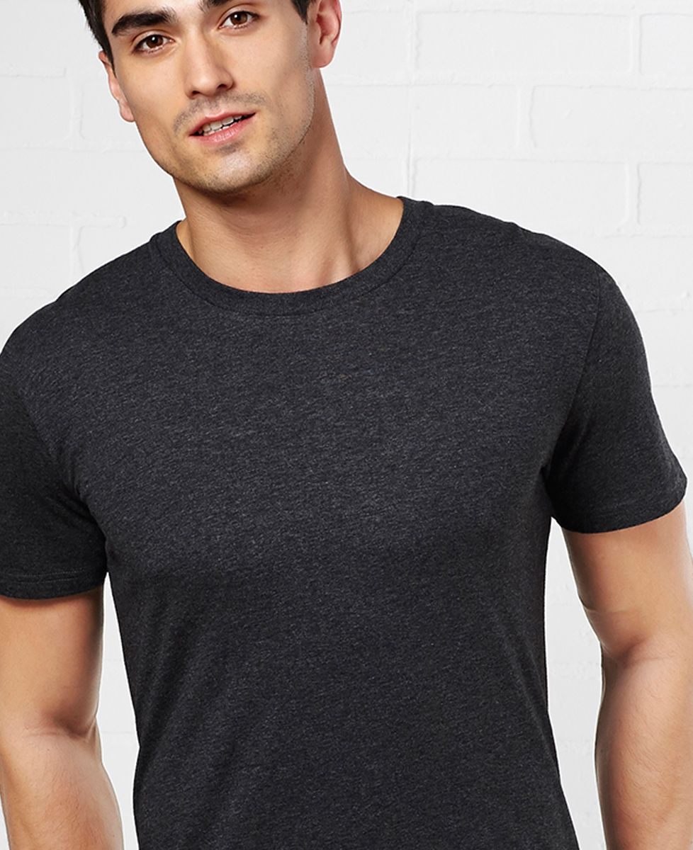 T-Shirt homme Message brodé personnalisé encadré