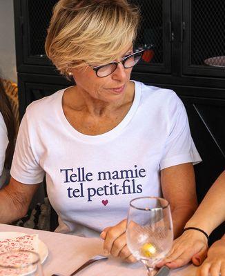 T-Shirt femme Telle mamie tel petit-fils