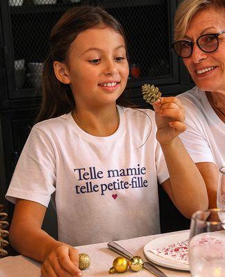 T-Shirt enfant Telle mamie telle petite-fille