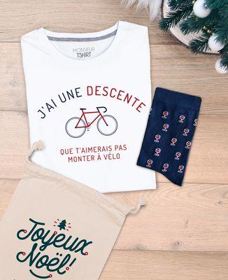 Coffret Descente à vélo + Chaussettes Verre de vin