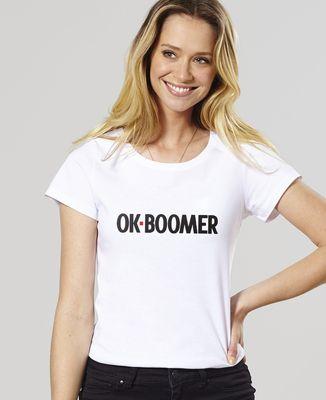 T-Shirt femme Ok boomer
