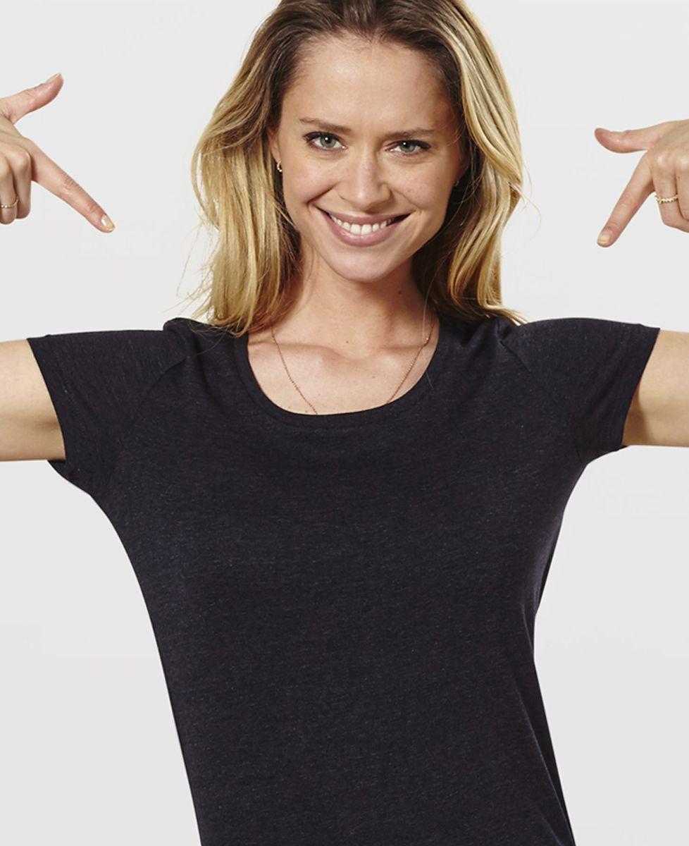 T-Shirt femme Année brodée personnalisée