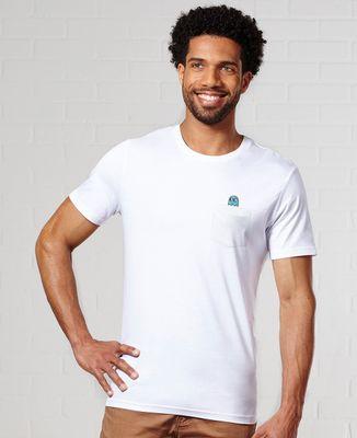 T-Shirt à Poche Fantôme jeux vidéo (Brodé)