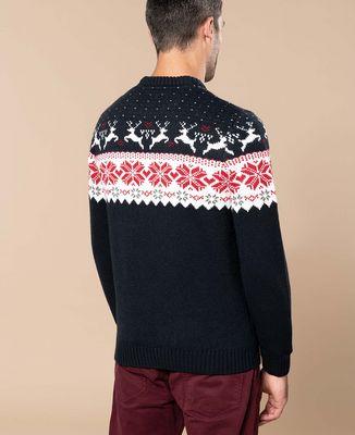 Pull Noel motifs rennes