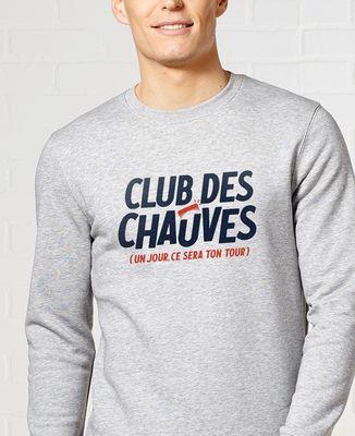 Sweatshirt homme Club des chauves