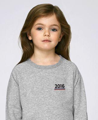 Sweatshirt enfant Année brodée personnalisée