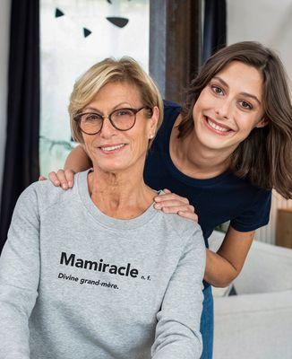 Sweatshirt femme Mamiracle