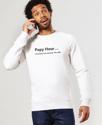 Sweatshirt homme Papy Hour
