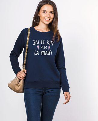 Sweatshirt femme J'ai le kir sur la main