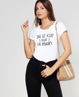 T-Shirt femme J'ai le kir sur la main