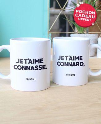 Coffret Je t'aime Connard/Connasse
