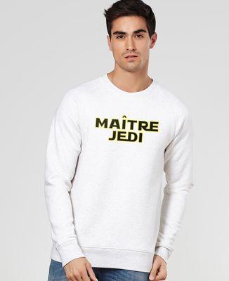 Sweatshirt homme Maître Jedi