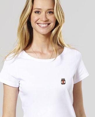 T-Shirt femme Nutelove (brodé)