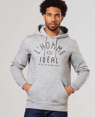 Hoodie homme L'homme idéal