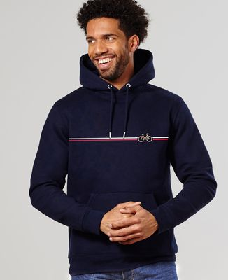 Hoodie homme Vélo frenchy